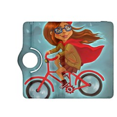 Girl On A Bike Kindle Fire Hdx 8 9  Flip 360 Case