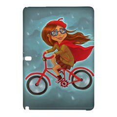 Girl On A Bike Samsung Galaxy Tab Pro 12 2 Hardshell Case by chipolinka