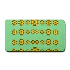Sun Flowers For The Soul At Peace Medium Bar Mats by pepitasart