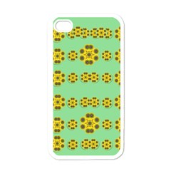 Sun Flowers For The Soul At Peace Apple Iphone 4 Case (white)