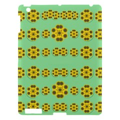 Sun Flowers For The Soul At Peace Apple Ipad 3/4 Hardshell Case by pepitasart