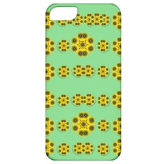 Sun Flowers For The Soul At Peace Apple Iphone 5 Classic Hardshell Case by pepitasart