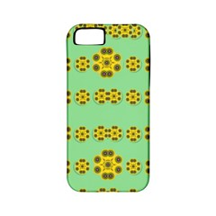 Sun Flowers For The Soul At Peace Apple Iphone 5 Classic Hardshell Case (pc+silicone) by pepitasart