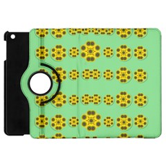 Sun Flowers For The Soul At Peace Apple Ipad Mini Flip 360 Case by pepitasart