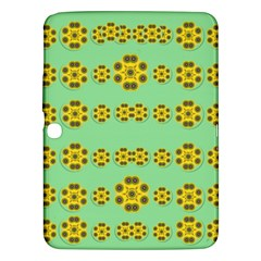 Sun Flowers For The Soul At Peace Samsung Galaxy Tab 3 (10 1 ) P5200 Hardshell Case  by pepitasart