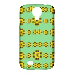 Sun Flowers For The Soul At Peace Samsung Galaxy S4 Classic Hardshell Case (pc+silicone) by pepitasart
