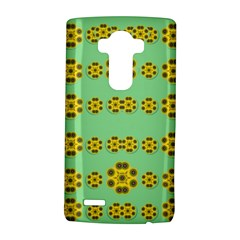 Sun Flowers For The Soul At Peace Lg G4 Hardshell Case by pepitasart