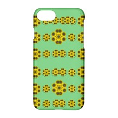 Sun Flowers For The Soul At Peace Apple Iphone 8 Hardshell Case