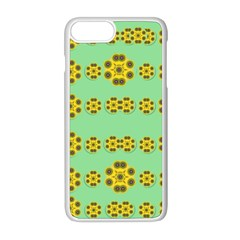 Sun Flowers For The Soul At Peace Apple Iphone 8 Plus Seamless Case (white) by pepitasart