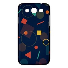 Blue Background Backdrop Geometric Samsung Galaxy Mega 5 8 I9152 Hardshell Case
