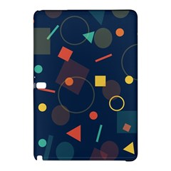 Blue Background Backdrop Geometric Samsung Galaxy Tab Pro 10 1 Hardshell Case