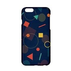 Blue Background Backdrop Geometric Apple Iphone 6/6s Hardshell Case