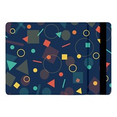 Blue Background Backdrop Geometric Apple Ipad Pro 10 5   Flip Case by Nexatart