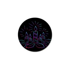 Advent Wreath Candles Advent Golf Ball Marker