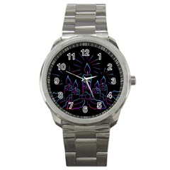 Advent Wreath Candles Advent Sport Metal Watch
