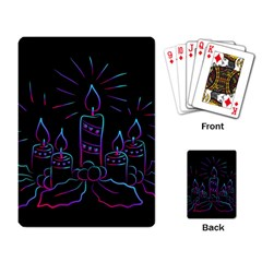 Advent Wreath Candles Advent Playing Card