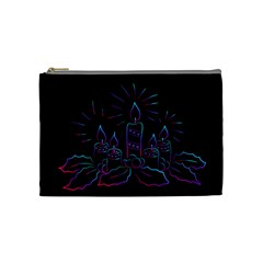 Advent Wreath Candles Advent Cosmetic Bag (medium)