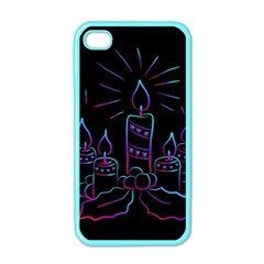Advent Wreath Candles Advent Apple Iphone 4 Case (color)