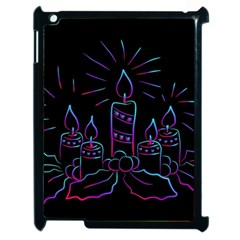 Advent Wreath Candles Advent Apple Ipad 2 Case (black)