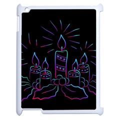 Advent Wreath Candles Advent Apple Ipad 2 Case (white)