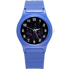 Advent Wreath Candles Advent Round Plastic Sport Watch (s)