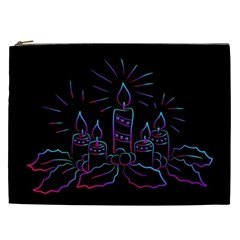 Advent Wreath Candles Advent Cosmetic Bag (xxl)