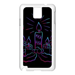 Advent Wreath Candles Advent Samsung Galaxy Note 3 N9005 Case (white)