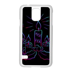 Advent Wreath Candles Advent Samsung Galaxy S5 Case (white)