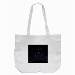 Advent Wreath Candles Advent Tote Bag (white)