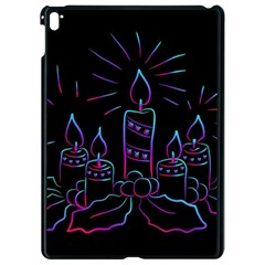 Advent Wreath Candles Advent Apple Ipad Pro 9 7   Black Seamless Case
