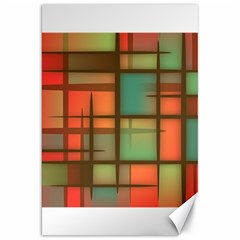 Background Abstract Colorful Canvas 20  X 30