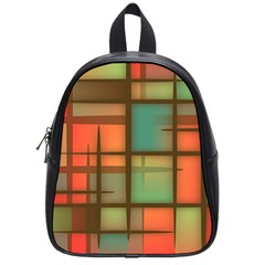 Background Abstract Colorful School Bag (small)