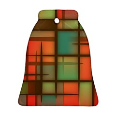 Background Abstract Colorful Bell Ornament (two Sides)