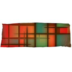 Background Abstract Colorful Body Pillow Case Dakimakura (two Sides)