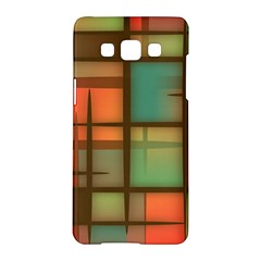 Background Abstract Colorful Samsung Galaxy A5 Hardshell Case