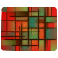 Background Abstract Colorful Jigsaw Puzzle Photo Stand (rectangular)