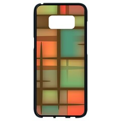 Background Abstract Colorful Samsung Galaxy S8 Black Seamless Case