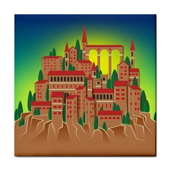 Mountain Village Mountain Village Tile Coasters