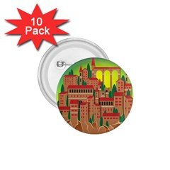 Mountain Village Mountain Village 1 75  Buttons (10 Pack)