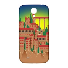 Mountain Village Mountain Village Samsung Galaxy S4 I9500/i9505  Hardshell Back Case