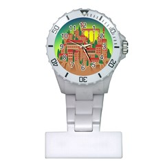 Mountain Village Mountain Village Plastic Nurses Watch
