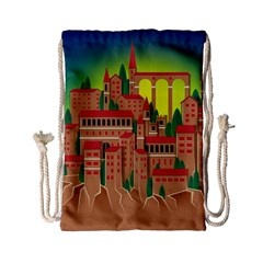 Mountain Village Mountain Village Drawstring Bag (small)