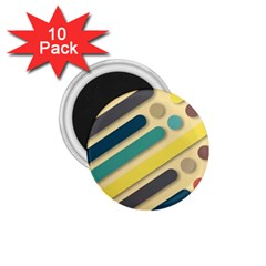 Background Vintage Desktop Color 1 75  Magnets (10 Pack)