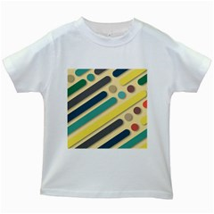 Background Vintage Desktop Color Kids White T Shirts