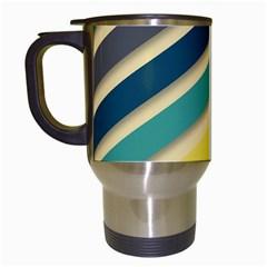 Background Vintage Desktop Color Travel Mugs (white)