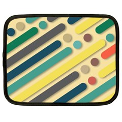 Background Vintage Desktop Color Netbook Case (xxl)