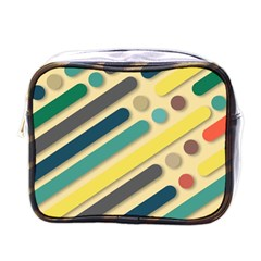 Background Vintage Desktop Color Mini Toiletries Bags