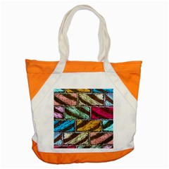 Colorful Painted Bricks Street Art Kits Art Accent Tote Bag by Costasonlineshop
