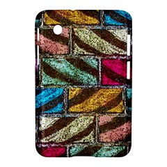 Colorful Painted Bricks Street Art Kits Art Samsung Galaxy Tab 2 (7 ) P3100 Hardshell Case  by Costasonlineshop