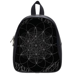 Sacred Geometry Music 144links School Bag (small) by Cveti